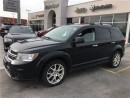 Used 2014 Dodge Journey R/T.DVD/Navi/7pass/Sunroof for sale in Burlington, ON