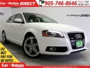 Used 2011 Audi A3 2.0T| AWD| LEATHER| NAVI| DUAL SUNROOF| for sale in Burlington, ON