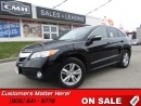 Used 2013 Acura RDX AWD, LEATHER, SUNROOF, POWER SEAT! for sale in St Catharines, ON