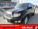 Used 2012 Honda Ridgeline Touring   Leather! Bluetooth! Navigation! Sunroof! for sale in St Catharines, ON