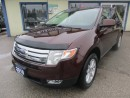 Used 2010 Ford Edge LOADED SEL EDITION 5 PASSENGER 3.5L - V6 ENGINE.. AWD.. LEATHER.. HEATED SEATS.. DUAL POWER SUNROOF.. for sale in Bradford, ON