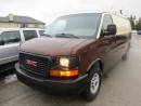 Used 2011 GMC Savana 'GREAT VALUE' 3/4 TON - WORK READY CARGO MOVER 2 PASSENGER 4.8L - V8 ENGINE.. TRAILER BRAKE.. TRACTION CONTROL.. for sale in Bradford, ON