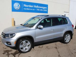 Used 2017 Volkswagen Tiguan COMFORTLINE 4MOTION AWD - LEATHER / SUNROOF / VW CERTIFIED for sale in Edmonton, AB