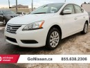 Used 2015 Nissan Sentra S for sale in Edmonton, AB