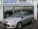 Used 2013 Ford Focus SE Sedan loaded Bluetooth Alloys for sale in Scarborough, ON