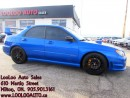 Used 2006 Subaru WRX STI Turbocharged 6 Speed Certified 2 YR Warranty for sale in Milton, ON