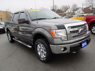 Used 2014 Ford F-150 XLT XTR PACKAGE, Crew Cab, 4X4 for sale in St Catharines, ON