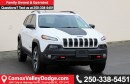 New 2017 Jeep Cherokee Trailhawk 4x4, HANDS-FREE/NAV READY/ BACK UP CAMERA TRAILER TOW GROUP/SUNROOF for sale in Courtenay, BC