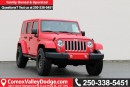 New 2017 Jeep Wrangler Unlimited Sahara LEATHER HEATED FRONT SEATS, A/C, TOW PACKAGE, BLUETOOTH for sale in Courtenay, BC