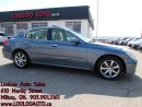 Used 2006 Infiniti G35X AWD Leather Sunroof Certified 2YR Warranty for sale in Milton, ON