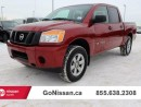 Used 2013 Nissan Titan Crew cab, 4x4, low KM's! for sale in Edmonton, AB