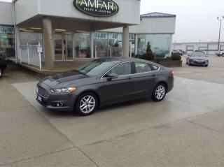 Used 2015 Ford Fusion 6 MONTHS NO PAYMENTS / LEATHER for sale in Tilbury, ON