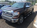 New 2017 Toyota 4X4 TUNDRA CREWMAX PLAT 5.7L 1794 EDITION for sale in Kentville, NS