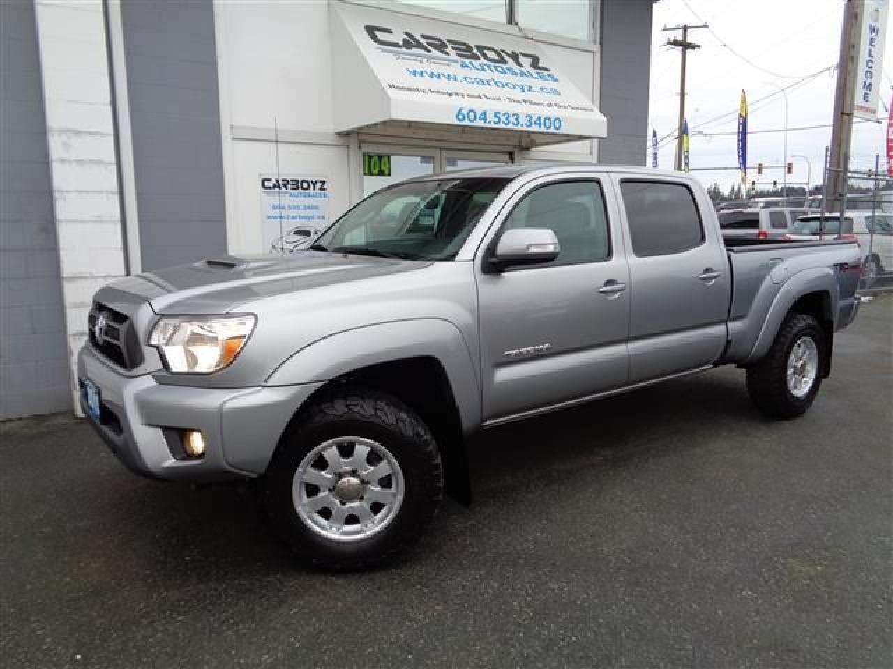 2015 Toyota Tacoma TRD Sport Premium, Double Cab, Nav, Leather