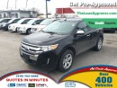 Used 2014 Ford Edge SEL * AWD * ONE OWNER * POWER SEATS for sale in London, ON