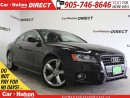 Used 2012 Audi A5 2.0T Premium| AWD| S LINE| SUNROOF| for sale in Burlington, ON