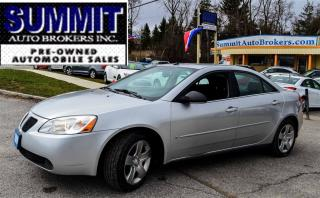Used 2009 Pontiac G6 SE | CAR-PROOF CLEAN | POWER WINDOWS, LOCKS & MIRR for sale in Richmond Hill, ON