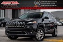 New 2017 Jeep Cherokee New Car Limited|4x4|HtdFrontSeats|RearCam|R-Start|18