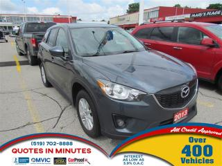 Used 2013 Mazda CX-5 GS | AWD | ROOF | HEATED SEATS | BLUETOOTH for sale in London, ON