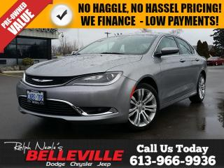 Used 2016 Chrysler 200 Limited-Bluetooth-Power Seat for sale in Belleville, ON