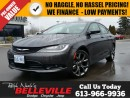 Used 2016 Chrysler 200 S-Navigation-Heated Seats for sale in Belleville, ON