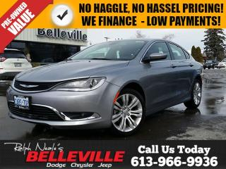 Used 2016 Chrysler 200 Power Group - Great ON Fuel ! for sale in Belleville, ON