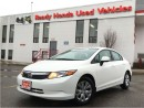 Used 2012 Honda Civic LX - New Tires - Low KMS for sale in Mississauga, ON