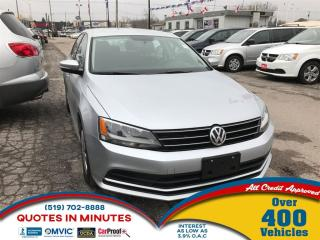 Used 2015 Volkswagen Jetta S 6A for sale in London, ON