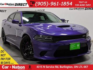 Used 2016 Dodge Charger SRT Hellcat| 707 HP| LOCAL TRADE| for sale in Burlington, ON