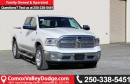New 2017 Dodge Ram 1500 Laramie SUNROOF, LEATHER FRONT & REAR HEATED SEATS, BLUETOOTH for sale in Courtenay, BC