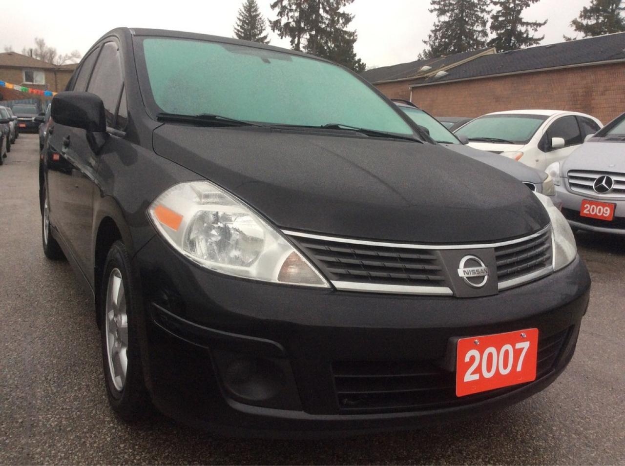 2007 Nissan Versa 1.8 SL Bluetooth AUX Alloys $$GAS SAVER$$
