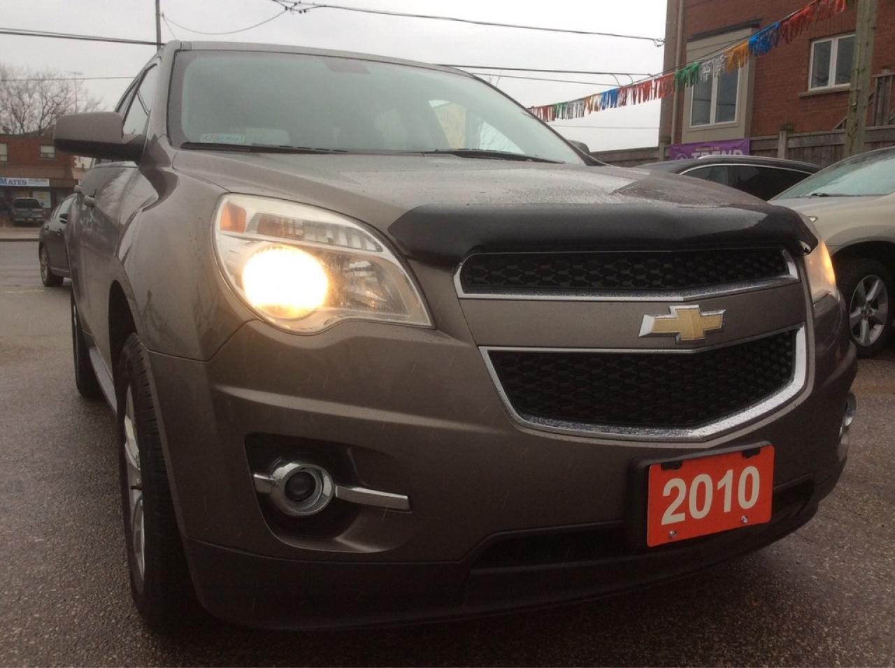 2010 Chevrolet Equinox 4 Cyl. Bk-Up Cam Bluetooth Sunroof Alloys MINT