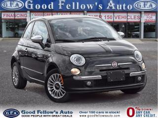 Used 2012 Fiat 500 LOUNGE, LEATHER SEATING for sale in North York, ON