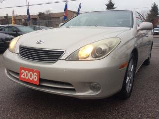 Used 2006 Lexus ES 330 LOADED & EXTRA CLEAN Leather Sunroof MUST SEE! for sale in Scarborough, ON