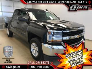 Used 2016 Chevrolet Silverado 1500 Heated Seats, Wireless Charging, Onstar 4G LTE for sale in Lethbridge, AB