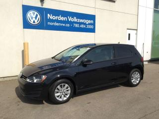 Used 2017 Volkswagen Golf TRENDLINE 5SPD M/T - VW CERTIFIED for sale in Edmonton, AB