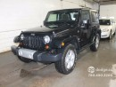 Used 2013 Jeep Wrangler SAHARA 2 DOOR/ 6 SPEED/ NAVIGATION/ ALPINE PREMIUM AUDIO for sale in Edmonton, AB