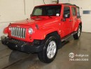 Used 2010 Jeep Wrangler Unlimited SAHARA UNLIMITED/ 6 SPEED/ TRAILER TOW/ ALPINE PREMIUM AUDIO for sale in Edmonton, AB
