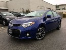 Used 2016 Toyota Corolla S,Local,low KM for sale in Surrey, BC