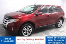 Used 2013 Ford Edge AWD! 20'S! LEATHER! NAVIGATION! PANORAMIC ROOF! REAR CAMERA! HEATED SEATS! 20