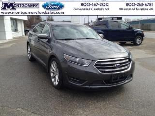 Used 2016 Ford Taurus Limited  - Leather Seats -  Bluetooth -  Cooled Seats for sale in Kincardine, ON