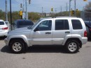 Used 2004 Jeep Liberty LIMITED 4X4 for sale in Kitchener, ON