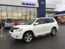 Used 2009 Toyota Highlander V6 Sport for sale in Port Coquitlam, BC