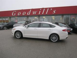 Used 2014 Ford Fusion SE! ECO-BOOST! NAVI! SUNROOF! for sale in Aylmer, ON