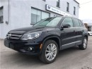 Used 2015 Volkswagen Tiguan Highline LEATHER, SUNROOF !! for sale in Concord, ON