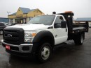 Used 2015 Ford F-550 XL RegCab&Chassis 4X4 Dually Diesel 11ft DumpBox for sale in Brantford, ON