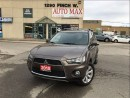 Used 2012 Mitsubishi Outlander LS, Rear view Camera, 4 new Michellin Tire for sale in North York, ON