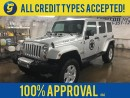 Used 2011 Jeep Wrangler SAHARA UNLIMITED*HARD & SOFT TOPS*KEYLESS ENTRY*REMOTE START*POWER WINDOWS LOCKS*POWER HEATED MIRRORS*STEP BARS*ALLOY WHEELS W/GOODYEAR DURATRAC TIRES*HITCH RECEIVER W/WIRING*INFINITY CD/MP3 W/AUX INPUT & SUBWOOFER* for sale in Cambridge, ON