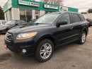 Used 2011 Hyundai Santa Fe Limited w/Navi l LEATHER l SUNROOF for sale in Waterloo, ON