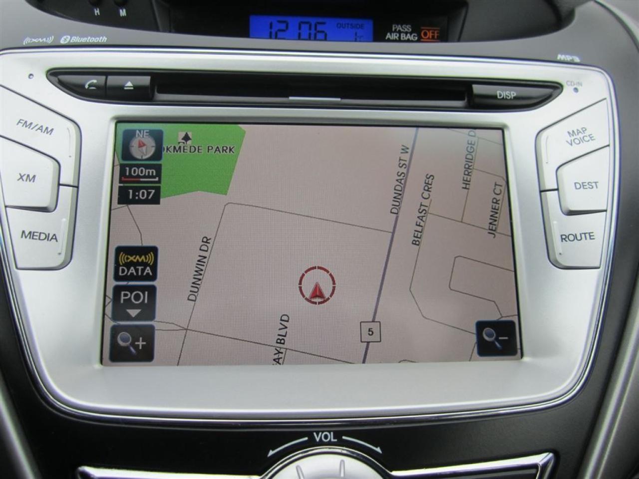 2012 Hyundai Elantra Limited w/Navigation-NEW tires-MINT